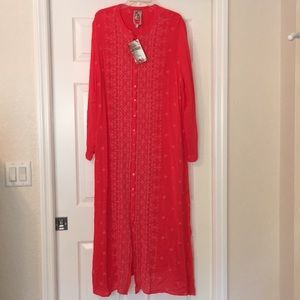 Johnny Was-Maxi Dress-NWOT